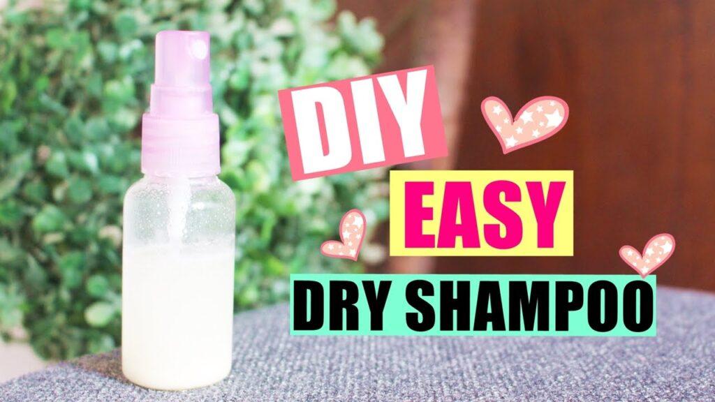 dry organic shampoo