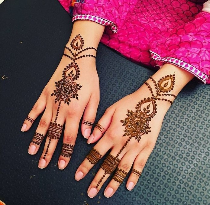 30 basic mehndi designs for hands and feet11