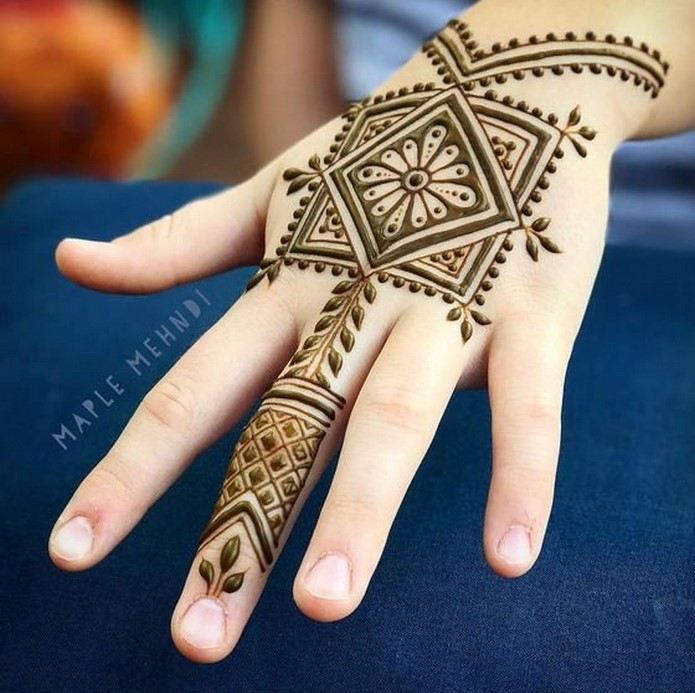30 basic mehndi designs for hands and feet12