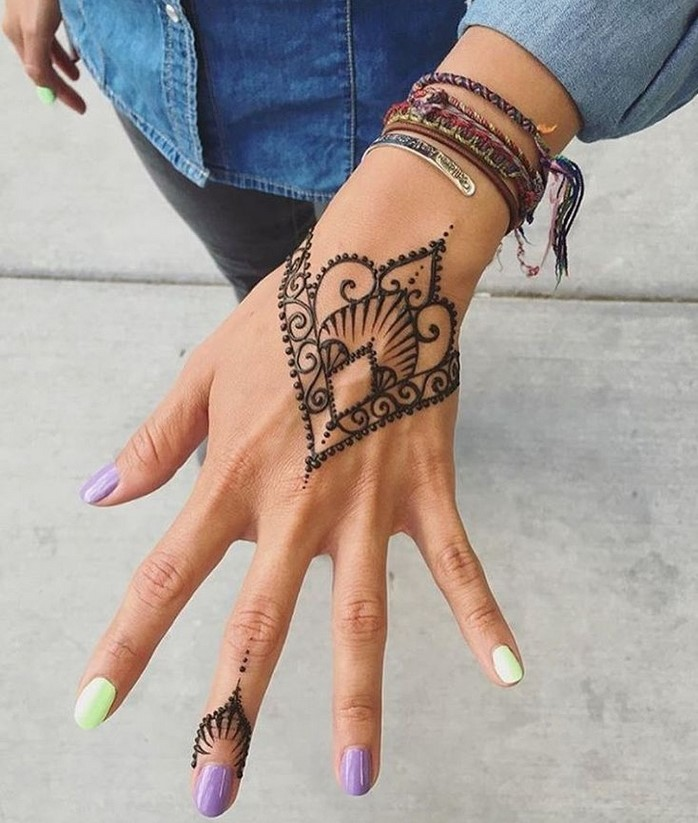 30 basic mehndi designs for hands and feet15