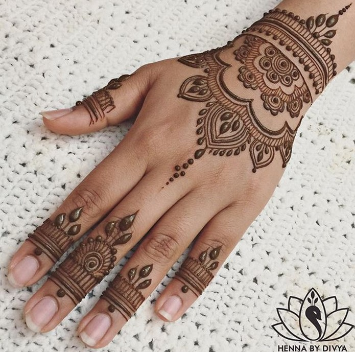 30 basic mehndi designs for hands and feet2 1