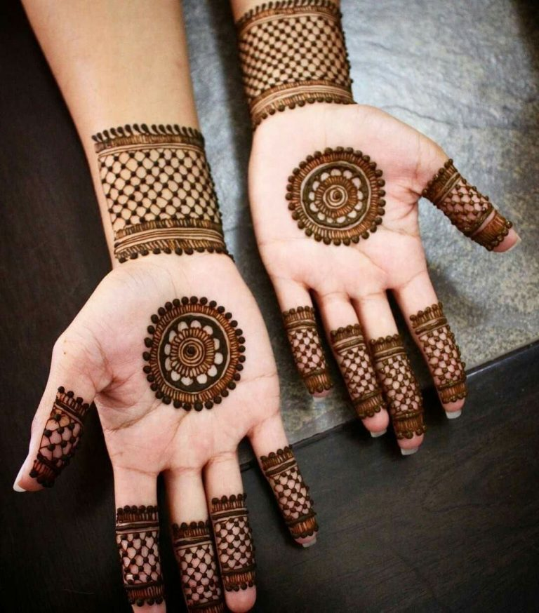 30 basic mehndi designs for hands and feet5 768x874 1