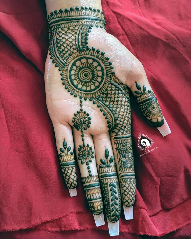 30 basic mehndi designs for hands and feet6 768x960 1