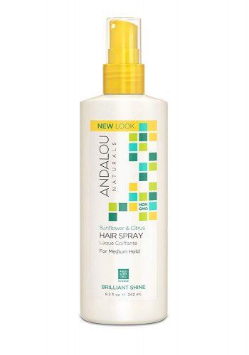 Andalou Naturals non toxic hair spray