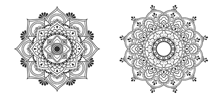 How to use the mandalas in meditation