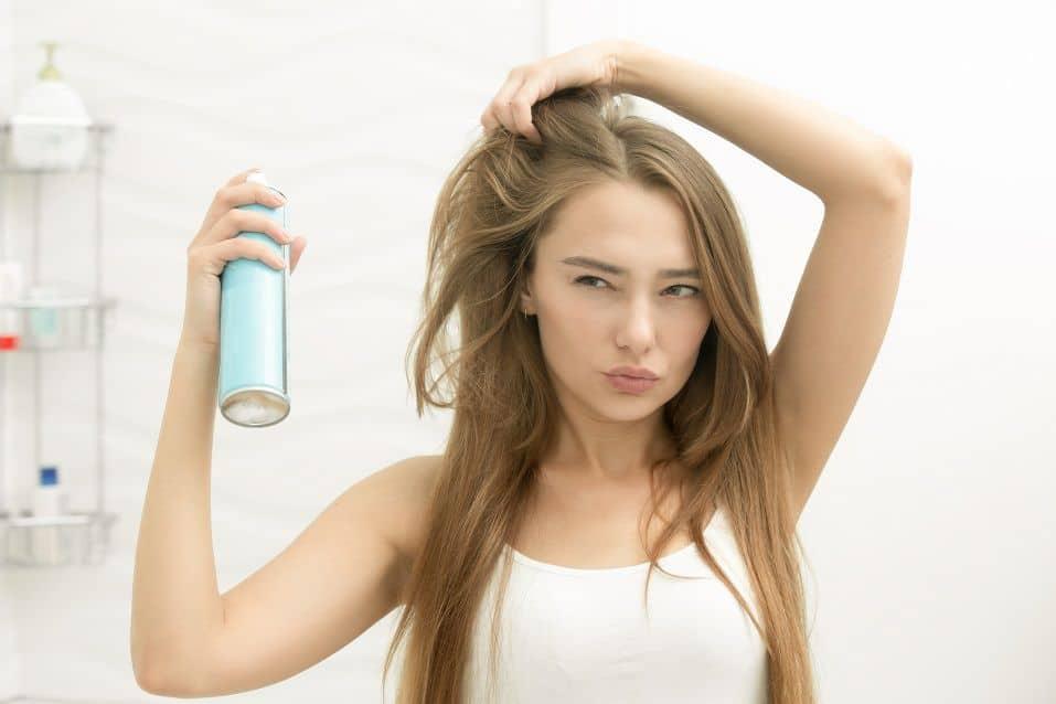 Natural and Organic Hairspray