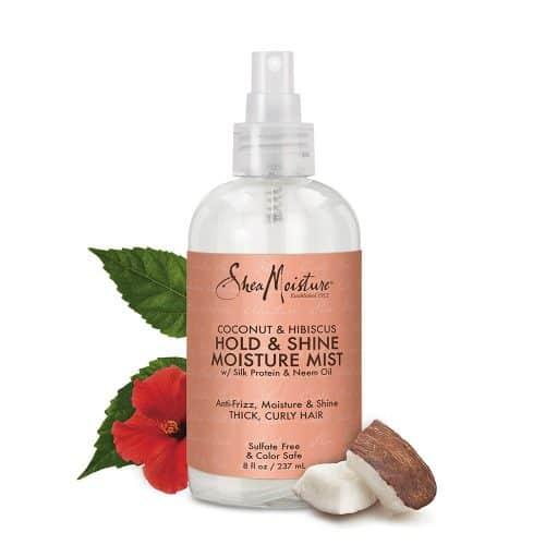 Shea Moisture non toxic hair spray
