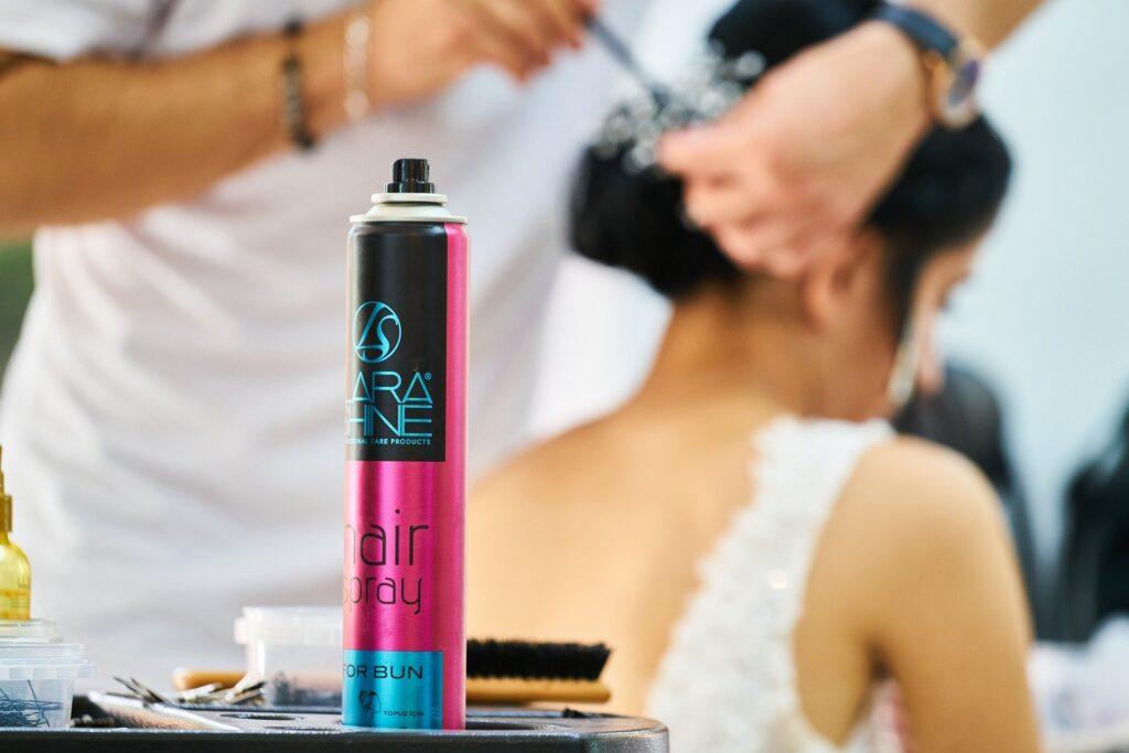 non toxic hair spray