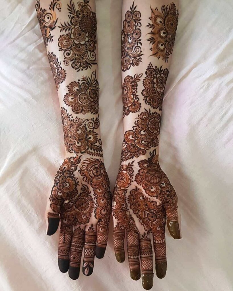 best design for henna on hands