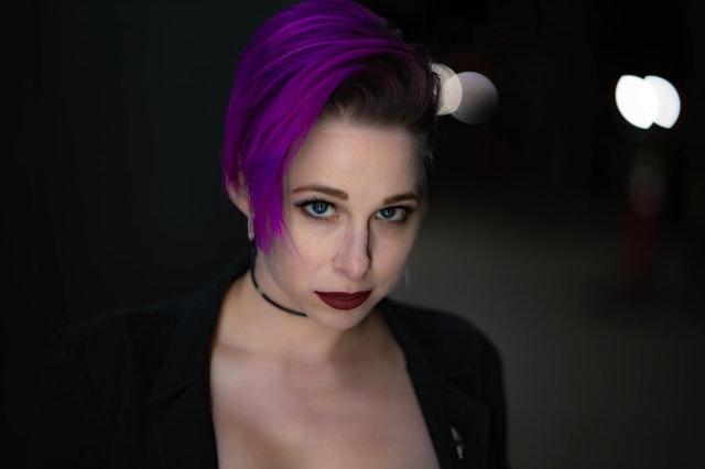 Organic Purple Hair Color
