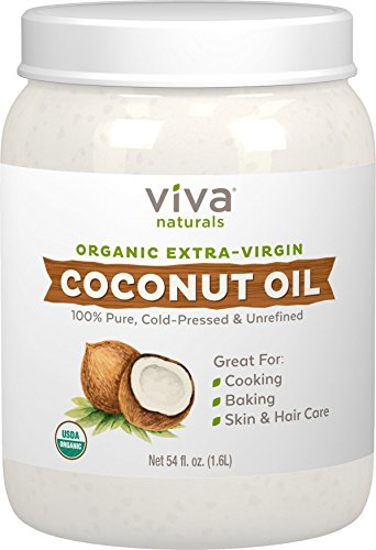 coconut oil natural hair gel substitute