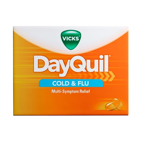 does dayquil keep you awake at night