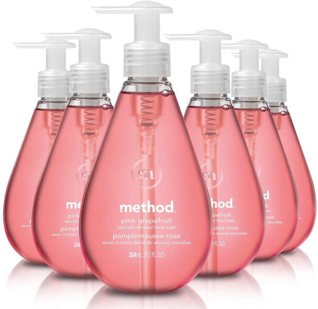 Method organic and natural Gel Hand Soap