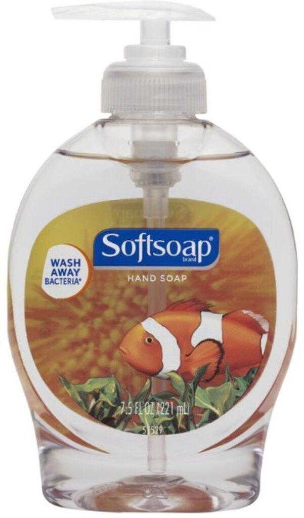 Softsoap Liquid Organic and Natural Hand Soap, Aquarium Series