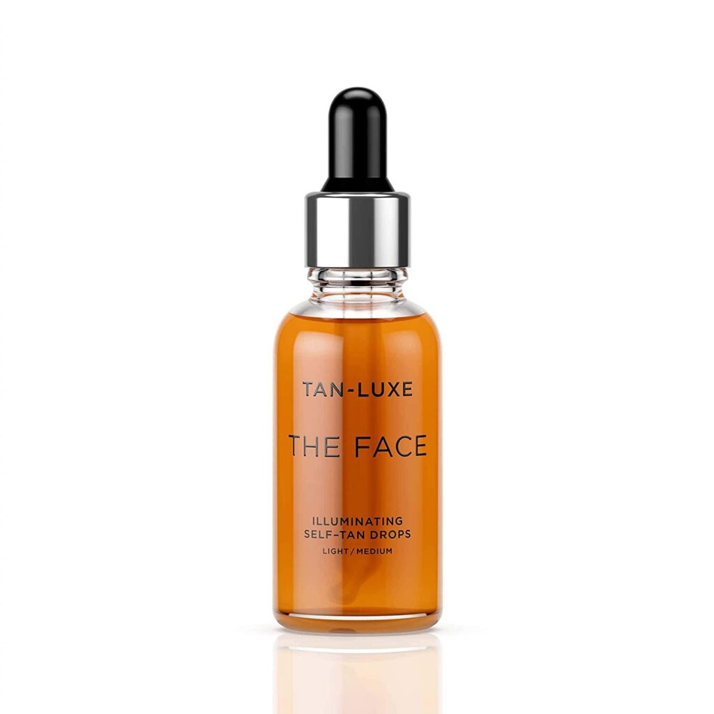 TAN LUXE The Face self tanner without dha