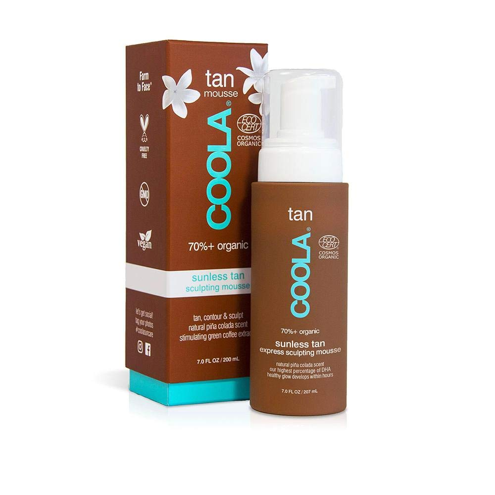 COOLA Organic mousse self tanner without dha