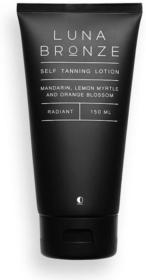 luma bronze self tanner without dha