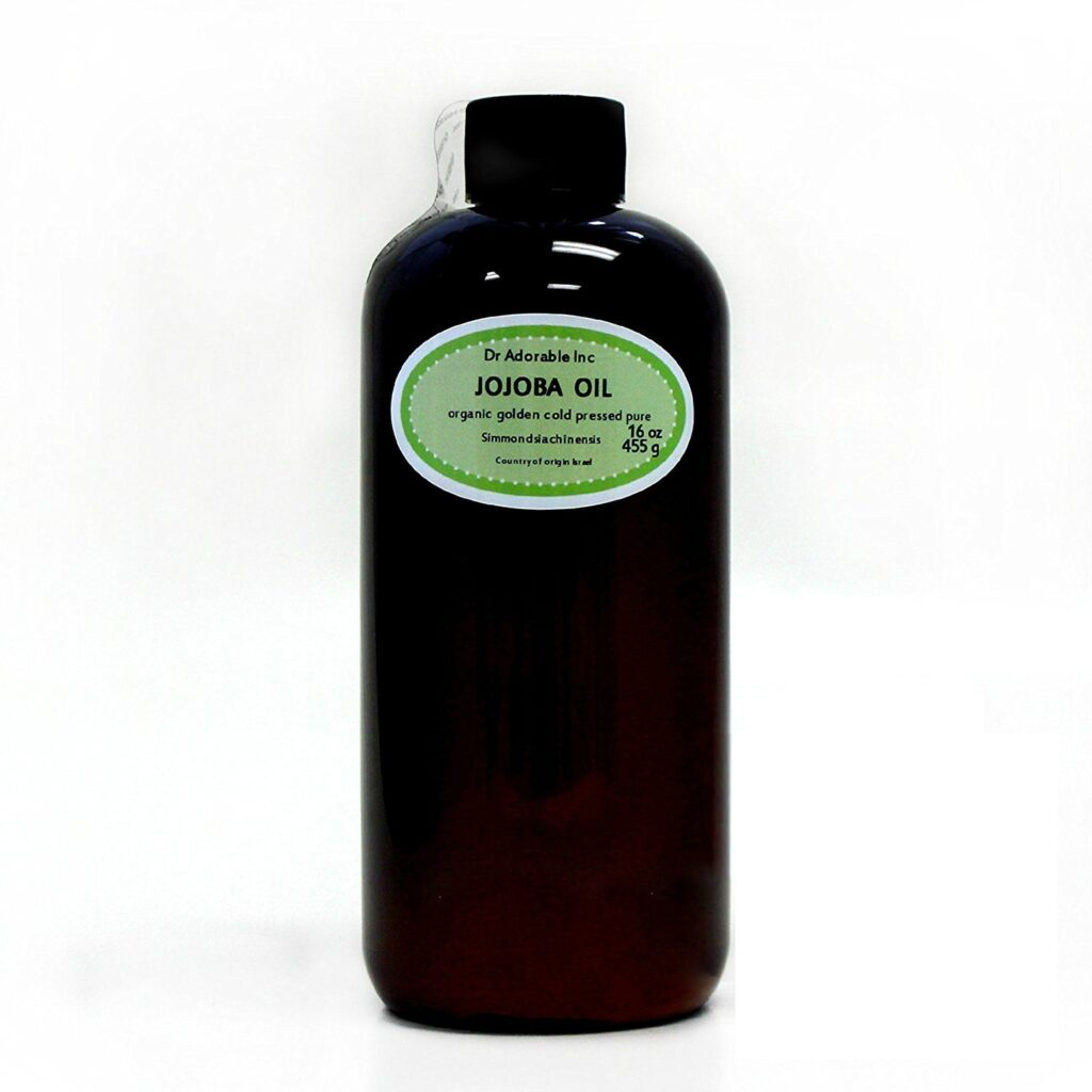 Jojoba Oil Golden Organic makeup remover