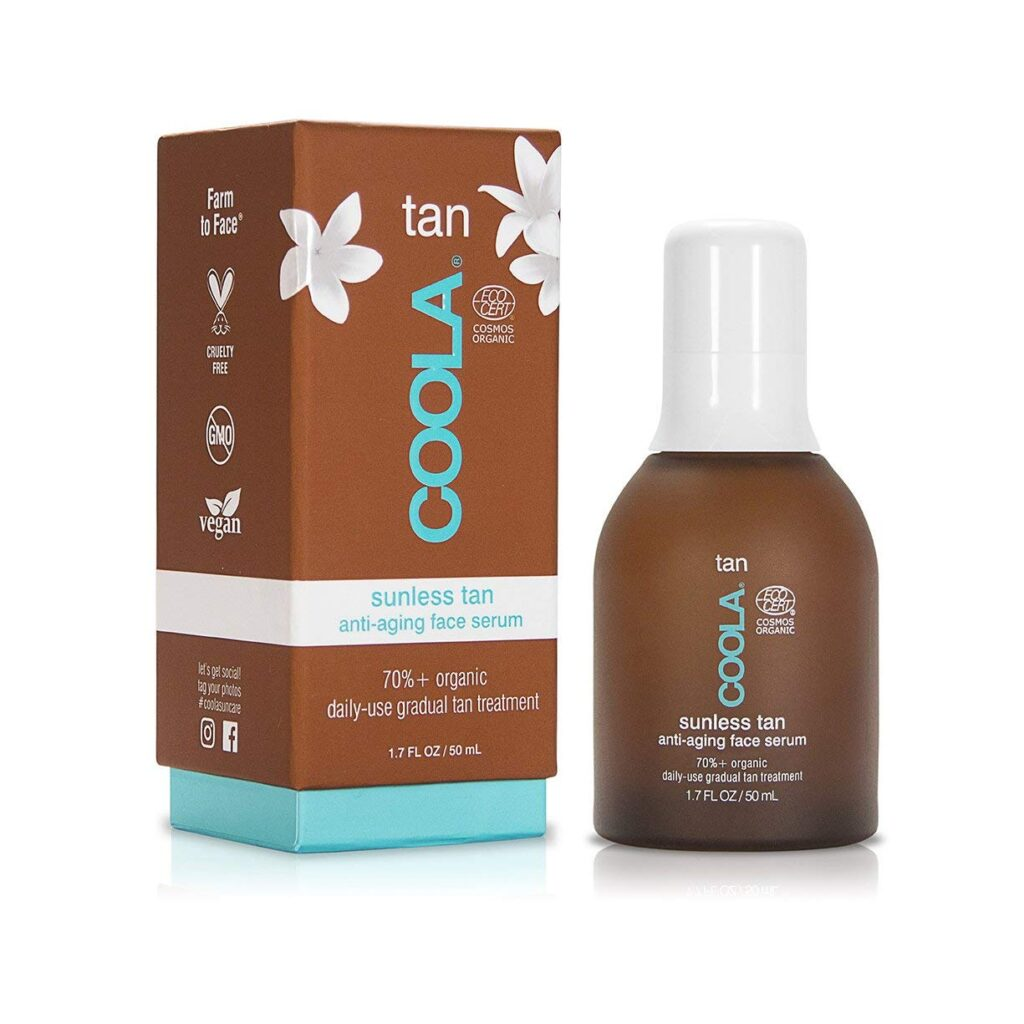 Coola organics self tanner without dha