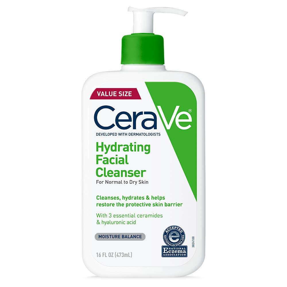 CeraVe Hydrating Natural Acne Face Wash