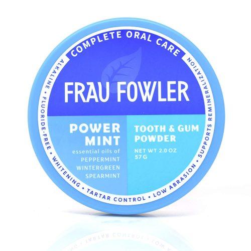 Frau Flower Tooth Powder