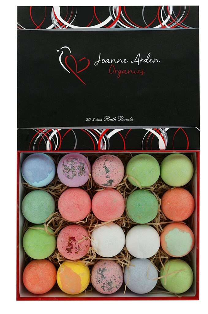 Joanne Arden Organics Vegan Bath Bomb Kit of 20