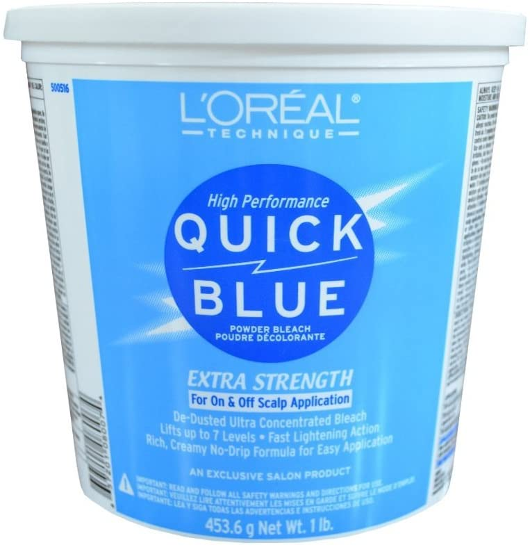 L'Oreal Quick Blue Powder Bleach