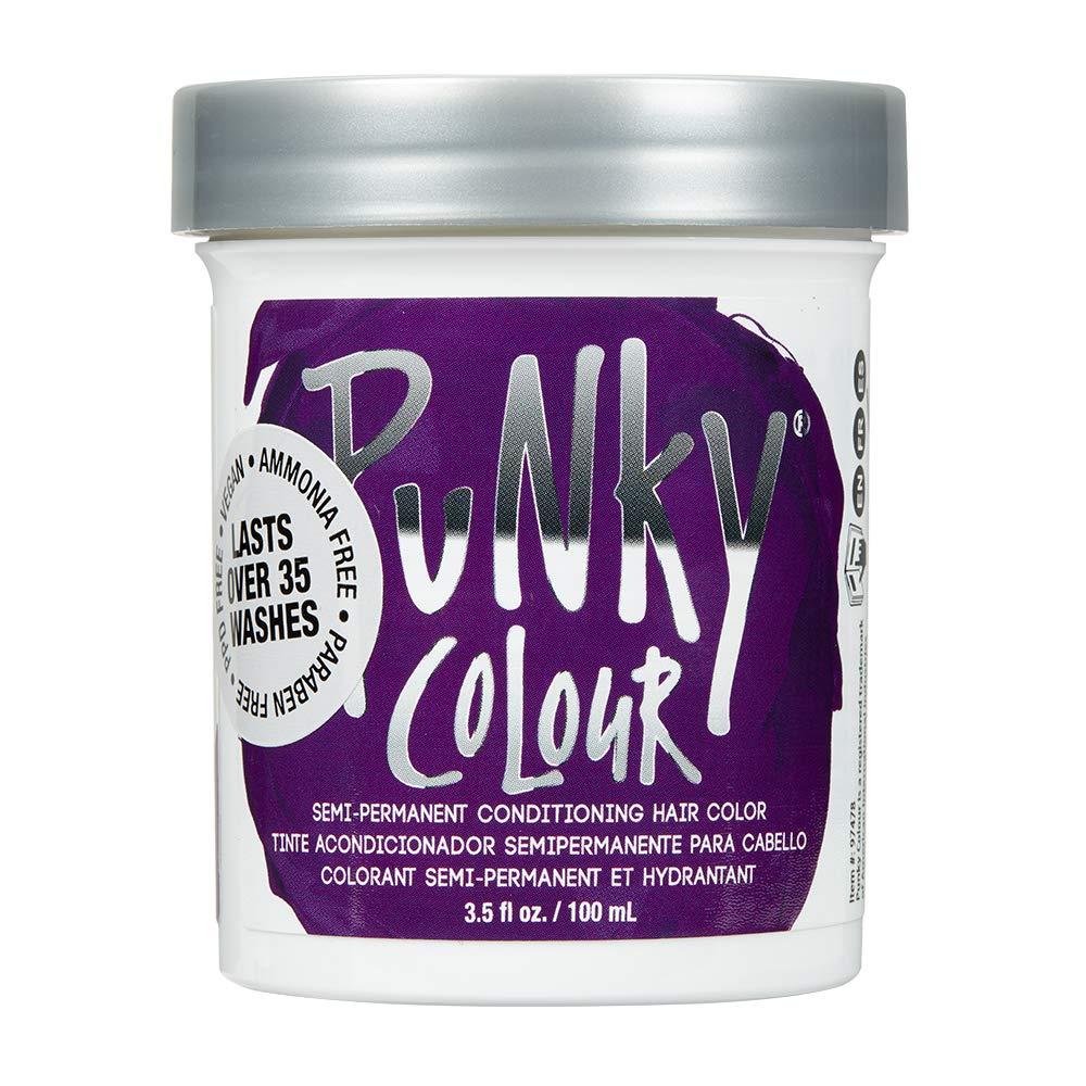 Punky Purple Semi-Permanent Conditioning Hair Dye