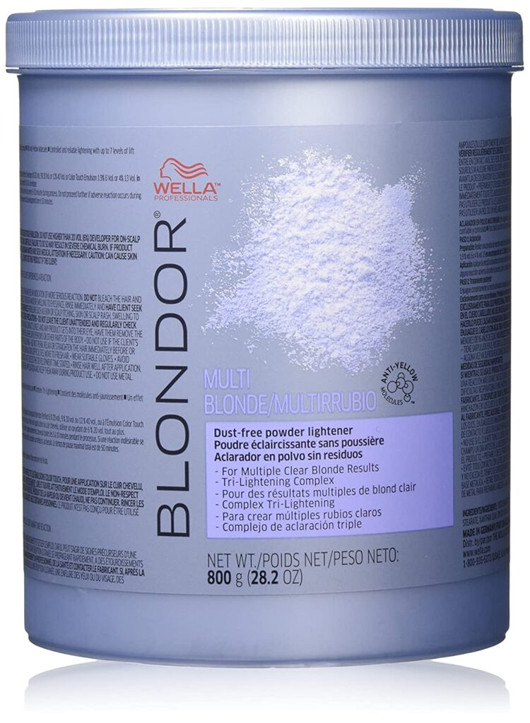 Wella Blondor Multi Blonde Powder Lightener