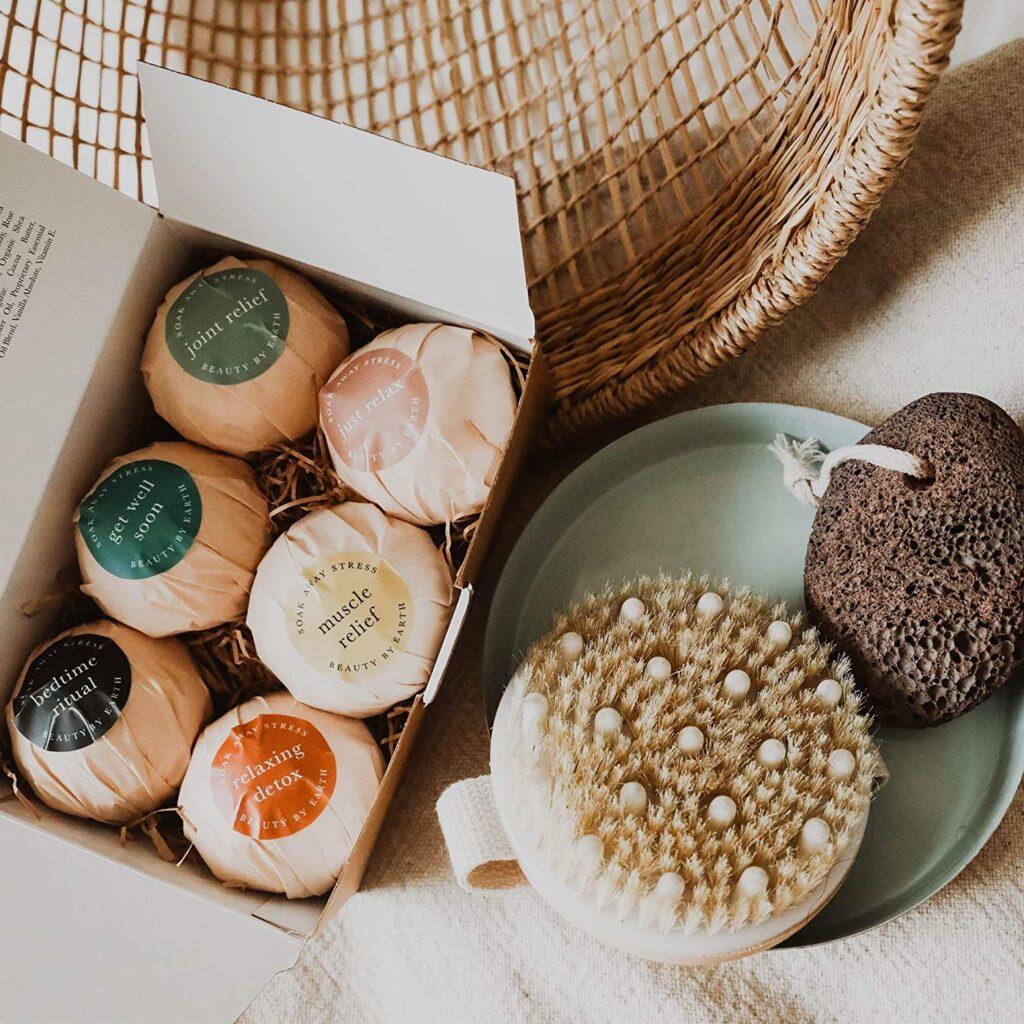 Natural and Organic Bath Bombs