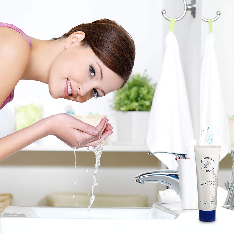 natural acne face wash