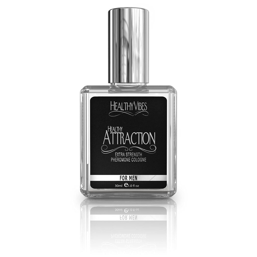 Healthy Attraction Pheromone Oil Infused Cologne for Men