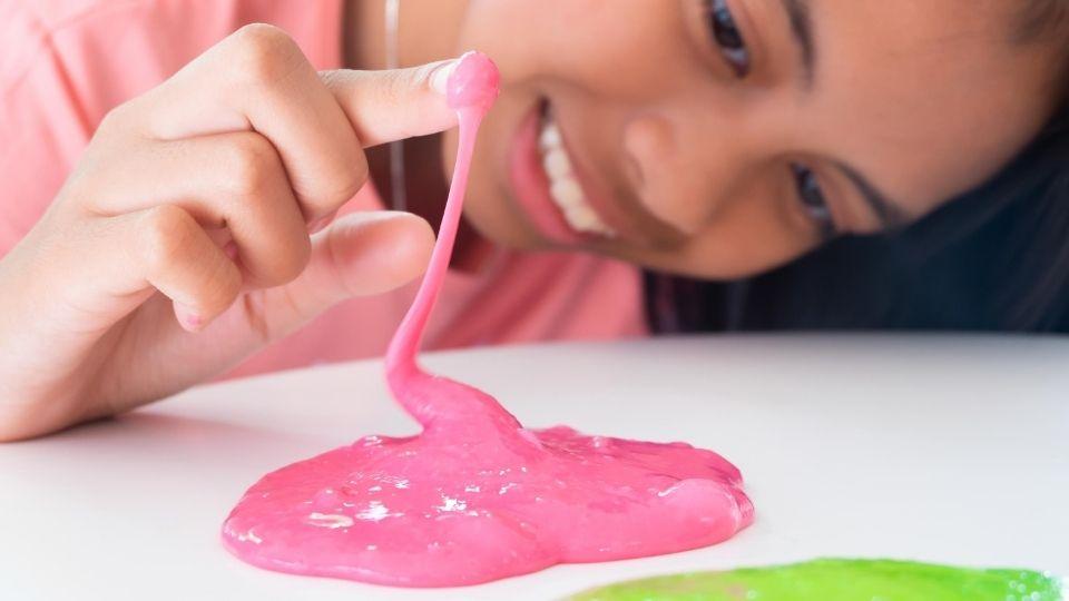 diy lotion slime